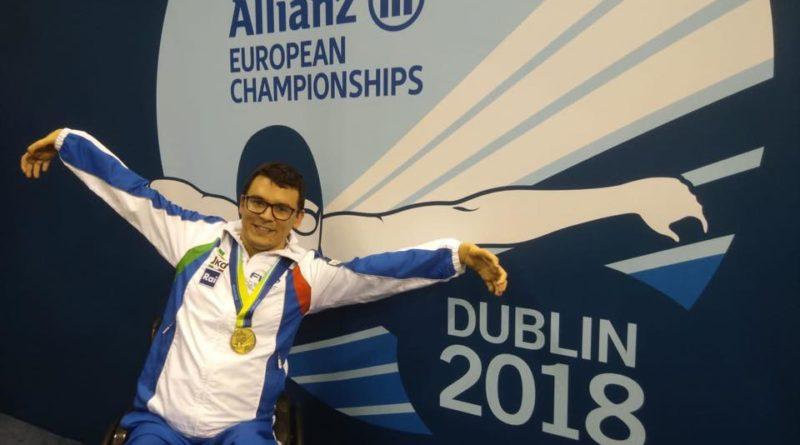 Dublino, l'Europeo paralimpico di Dublino e di Francesco Bettella