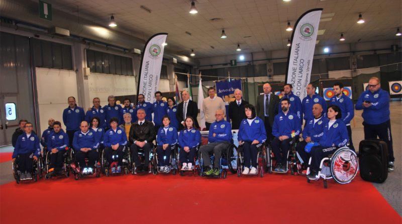 La Nazionale Para-Archery alla Fiera di Padova